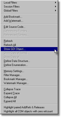 C++ Memory Validator Tutorial - Viewing GDI Objects